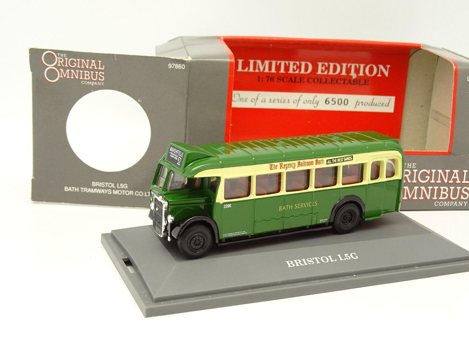Corgi 1 76 - Bus Bus Car Bristol L5G Bath