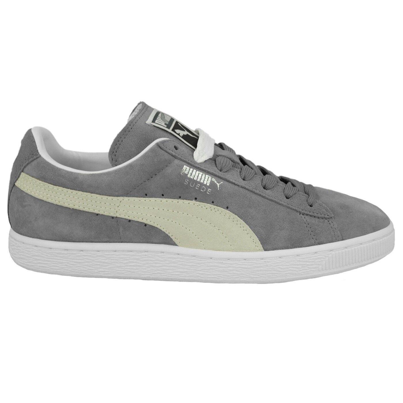 PUMA SUEDE CLASSIC+ - Zapatillas casual para hombre y mujer, color gris