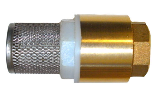 1stk ansaugfilter de latón válvula antirretorno diesel gasolinera manguera de aspiración