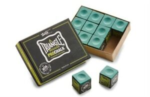 NEW Tweeten Triangle LIGHT GREEN PRO CHALK Box of 12 Pieces