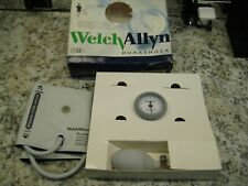 Welch Allyn Ds44 11c Gauge With Durable One Piece Cuff Adult Arm With Case New