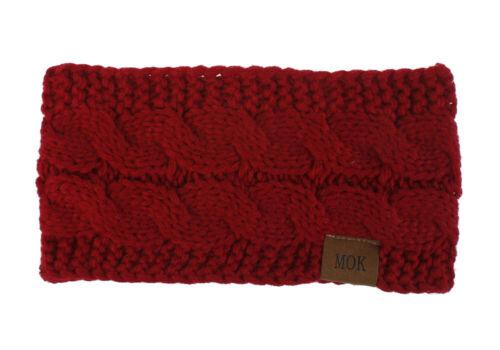 Women/'s Warm Woolen Headbands Yarn Haedwear Hair Bands Fashion Hair Accessory