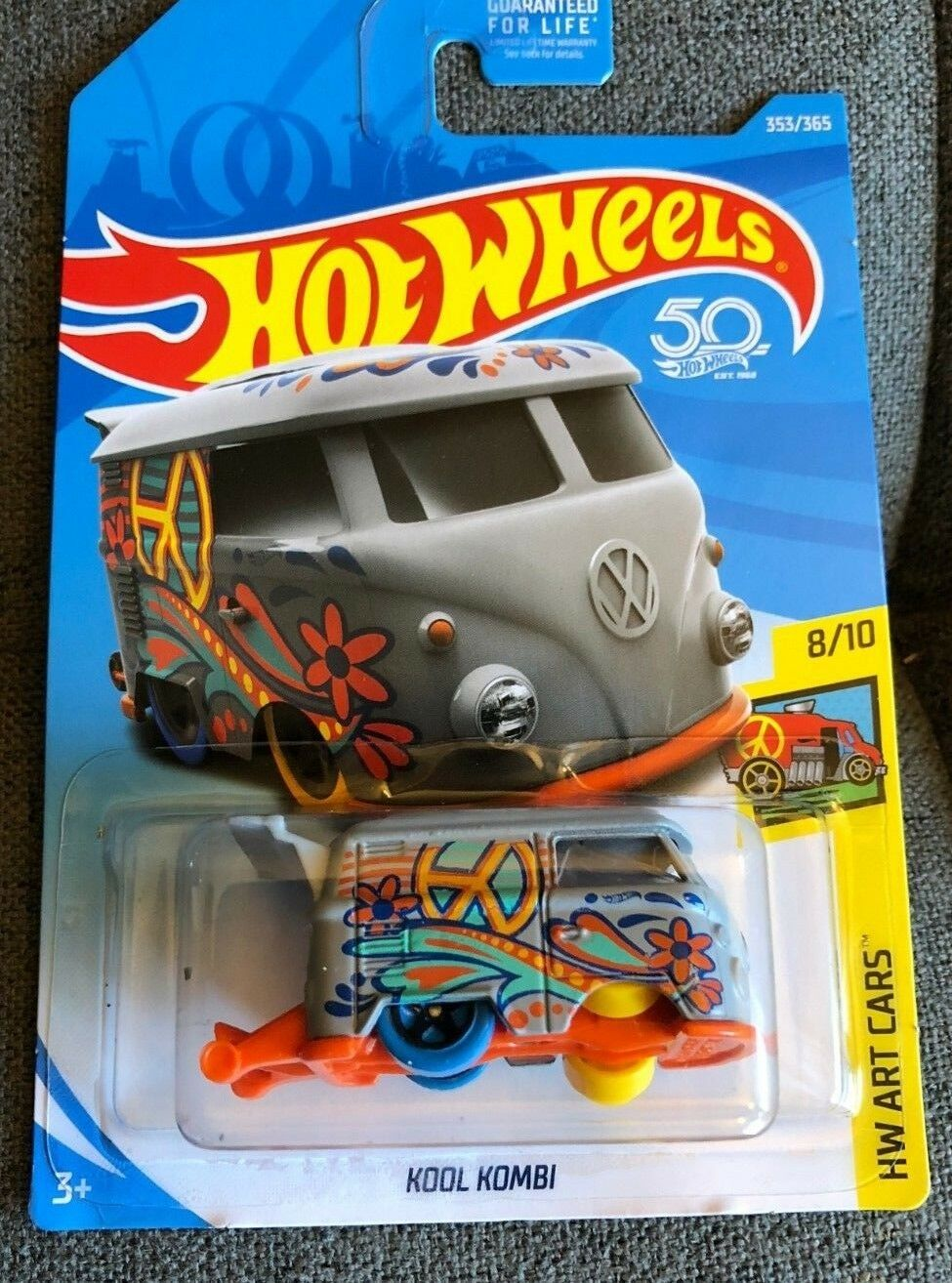MULTIPLE ERROR   NEW  2018 Hot Wheels - KOOL KOMBI - ONE OF A KIND- RARE  VHTF