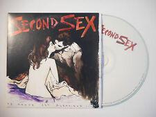 SECOND SEX : LE MONDE EST SILENCIEUX ♦ CD SINGLE PORT GRATUIT ♦