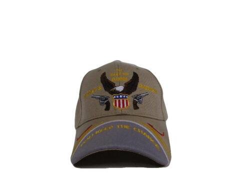 "2nd Amendment /""I/'ll Keep my Guns Money /& Freedom/"" Khaki Cap CAP972A Hat"