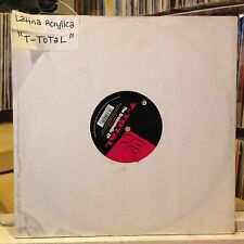 """[EDM]~EXC/VG+ 12""""~T-TOTAL~The Groovaholic EP~{Latina Acrylica~Sha~"""