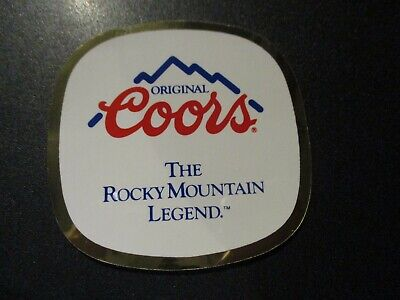COORS LIGHT SILVER BULLET BEER tap handle STICKER decal craft brewery brewing