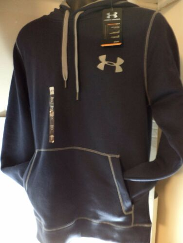 Under Armour Men Storm Armour Fleece Size S-2XL  Game Time Small Logo Hoodie