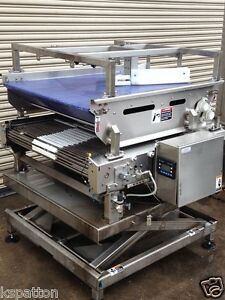 36-034-x-44-034-Long-SS-Sorting-Conveyor-with-Diverting-Conveyor-amp-SS-Lift-Table