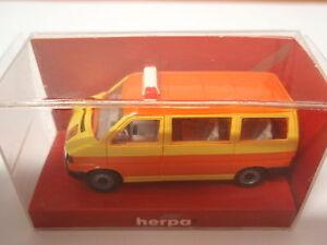 Herpa-041652-VW-CARAVELLE-scuolabus-1-87-Nuovo-u-OVP
