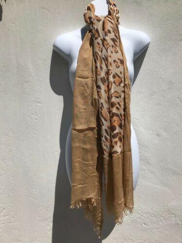 Capiz Femme lovely fine lisse Contraste Abstract Print écharpe Châle Wrap