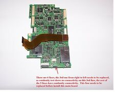 FREE SHIP Used Canon Camcorder GL2 Part Main Board One Fuse Need Replacement