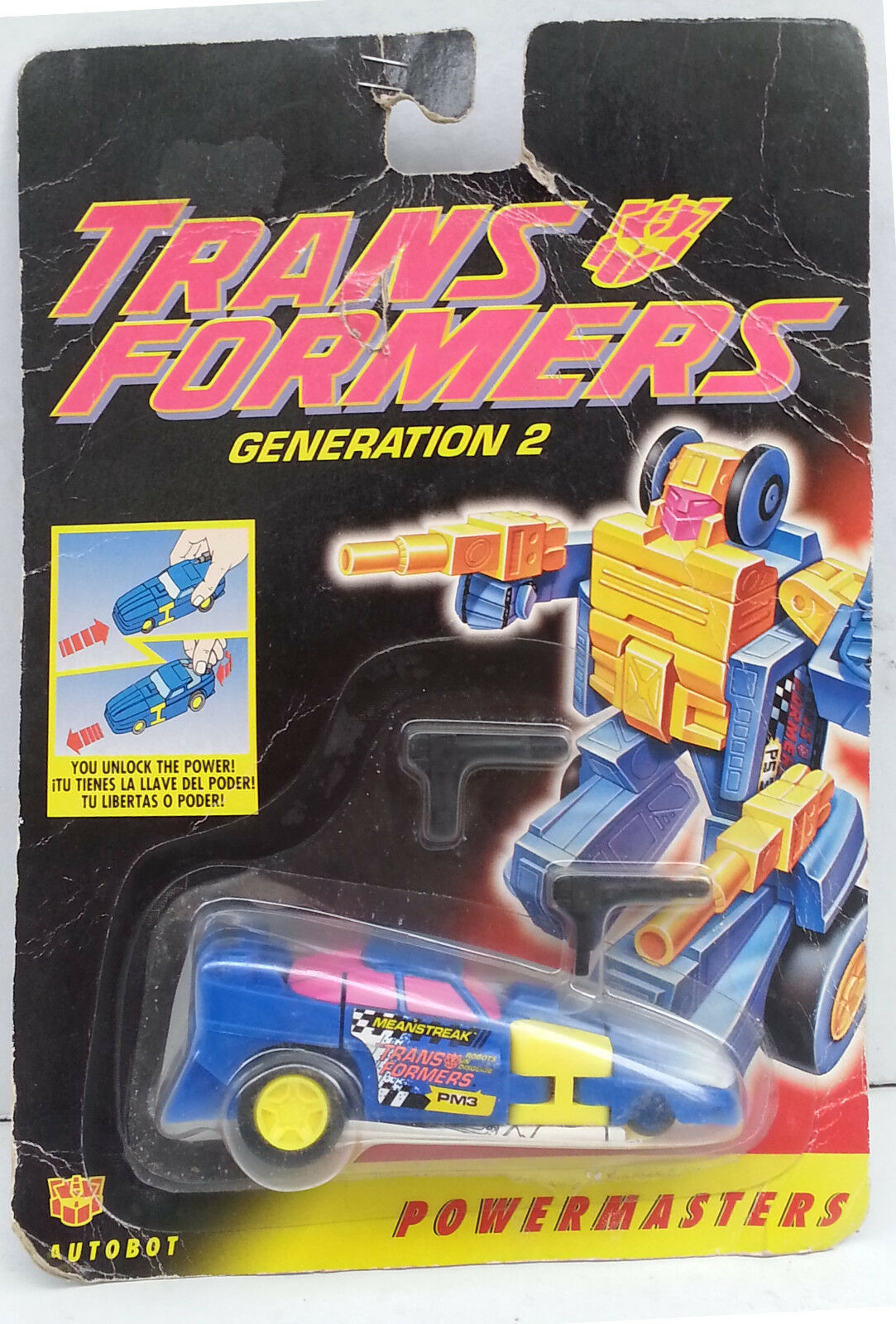 Transformers Generation 2 Powermasters Autobot Hasbro 1994 MIB