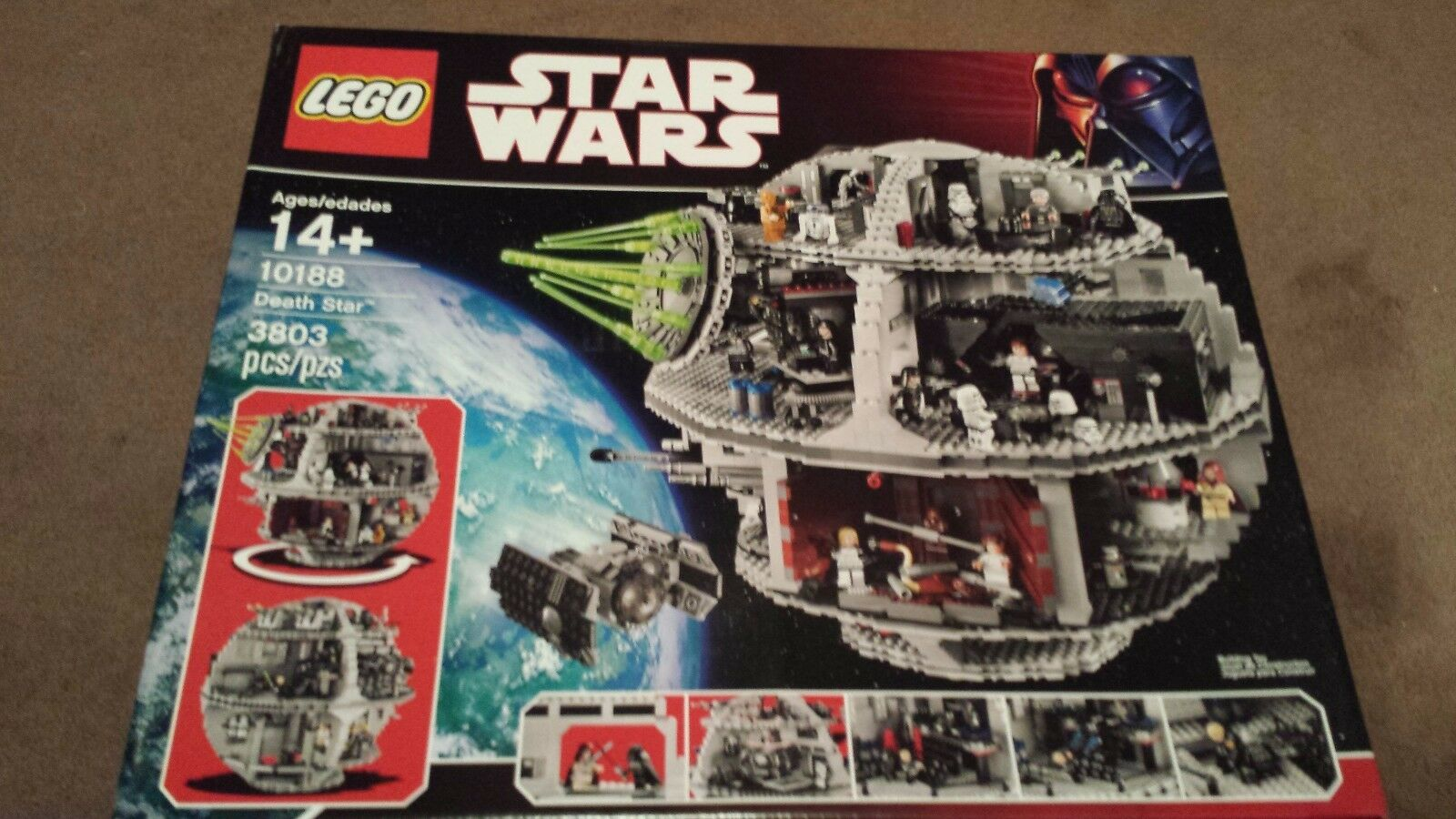 LEGO Star Wars Death Star 10188 - New and Sealed - Retired Set Ready To Ship