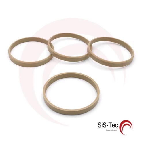 4 x anillo anillo distanciador llantas de aluminio 72,0 mm x 67,1 mm Mak TSW t16-sr671p