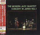 Concert in Japan Vol. 1 The Modern Jazz Quartet Audio CD