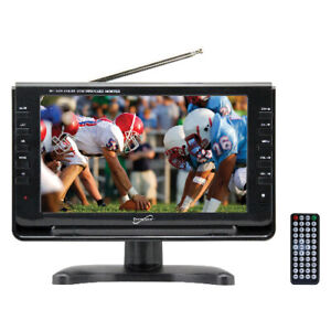 SuperSonic SC499 9 LCD Portable Digital TV W ATSC/NTSC Tuner & AC/DC SC-499D