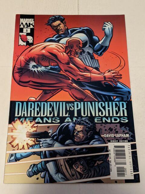 Daredevil Vs Punisher Means And Ends #5 December 2005 Marvel Comics