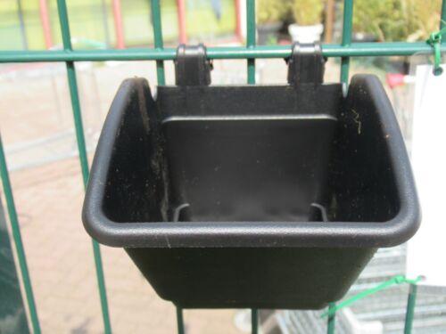 Blumentopf für Zaunbegrünung Sichtschutzzaun Hängepflanztopf