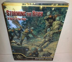 BOARD-WAR-GAME-WW2-Storming-the-Reich-UNPunched-2010-Compass-Games-Out-of-Print