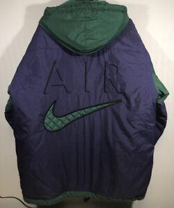 Vintage-80s-90s-nike-Air-Colorblock-Coat-Jacket-Size-Medium