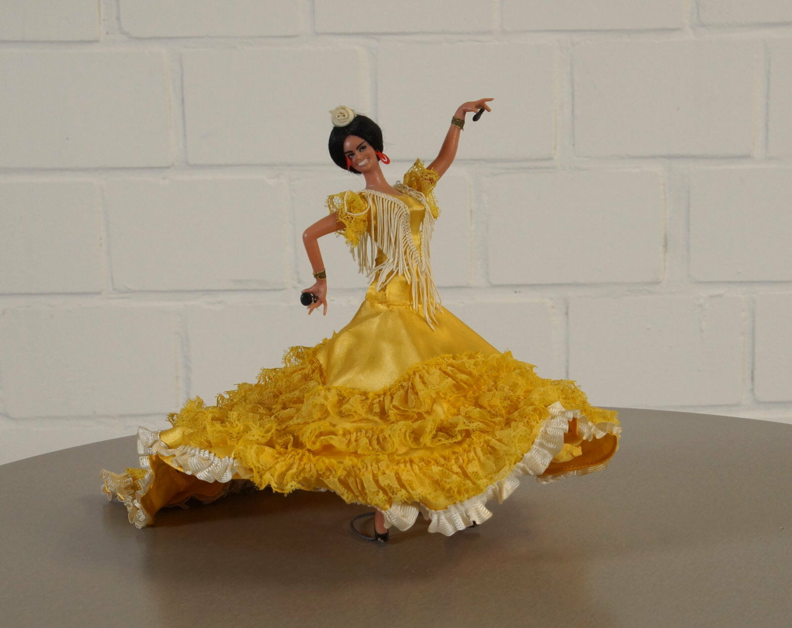 Seltene edle Sammler Puppe Puppe Puppe Flamenco Tänzerin Vintage 50er 60er Jahre Spanien RAR 171a66