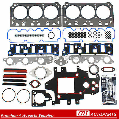 Fits Chevrolet Buick Pontiac GM Supercharged 3.8 OHV Head Gasket Set Head Bolts
