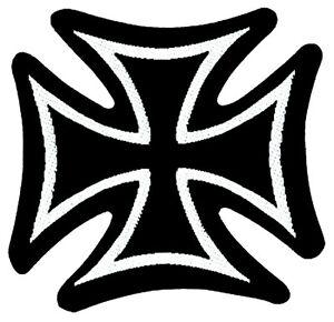 IRON-CROSS-Patch-Aufnaher-Eisernes-Kreuz-ca-8x8cm