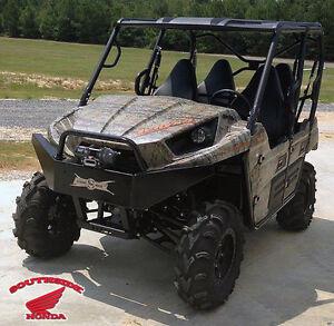 strong made winch series front bumper / winch mount kawasaki teryx
