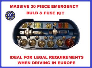 Spare Bulb Fuse Kit-Headlamp,Indicator,Tail Light,Travel Mercedes-Benz R-Class