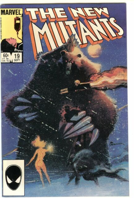 The New Mutants #19 (Sep 1984, Marvel)