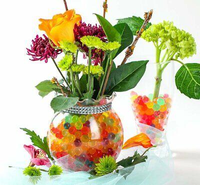 500-16000 Orbeez 7 Colori Acqua Del Suolo Perline Vaso Magic Balls Arredamento Crystal- Rafforzare La Vita E I Sinews