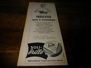 SOLI-BRILLE-NEUVES-APRES-3-Publicite-de-presse-Press-advert-1956