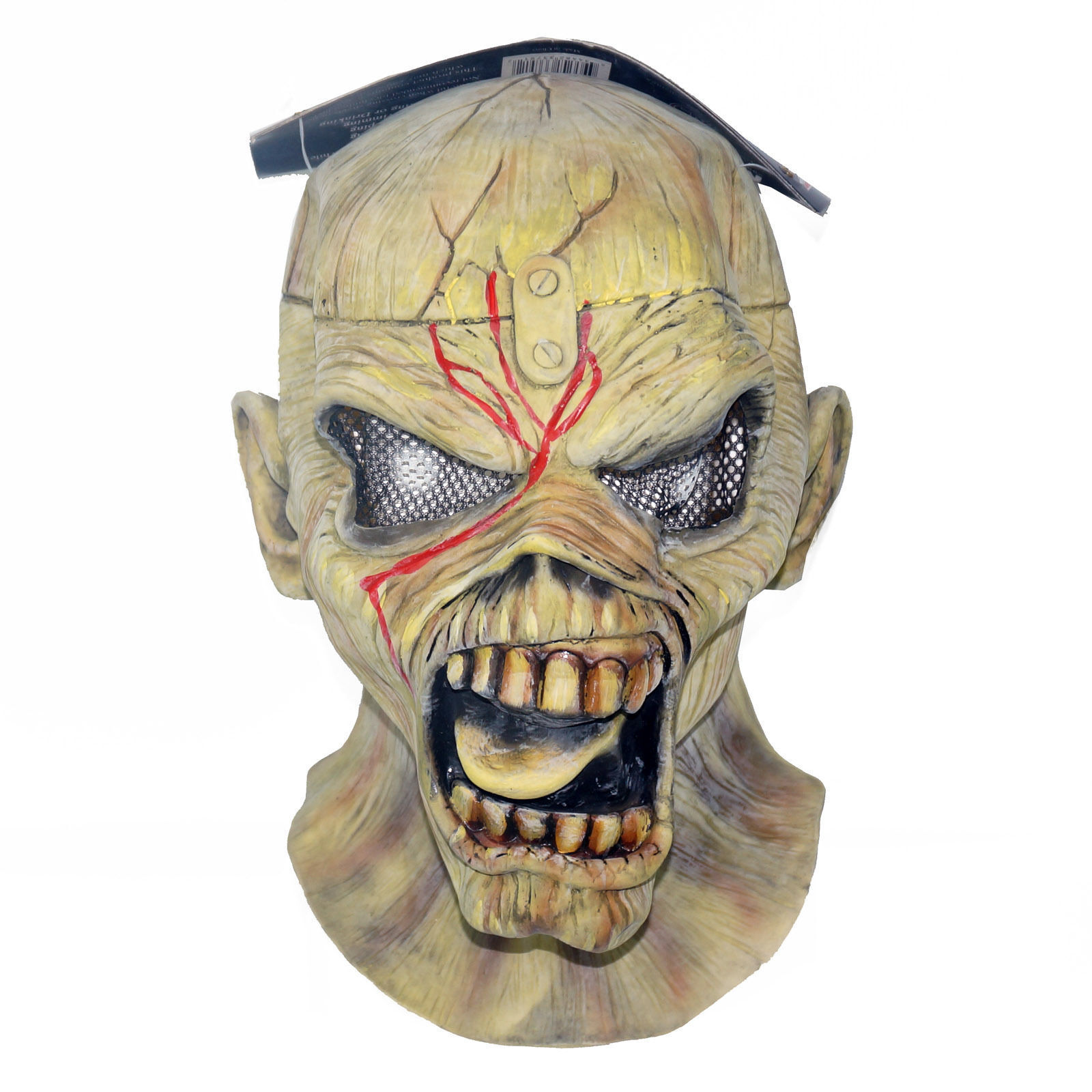 IRON MAIDEN PIECE OF MIND LATEX MASK OFFICIAL PRODUCT for ADULT by NECA NEW