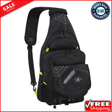 Aumtisc Backpack Large Fishing Tackle Bag Rainproof Cover and 4 Trays Box NEW
