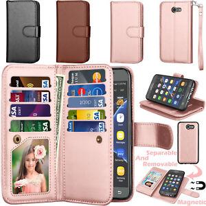 For-Samsung-Galaxy-J3-Luna-Pro-J327-Emerge-Eclipse-Wallet-Leather-ID-Card-Holder