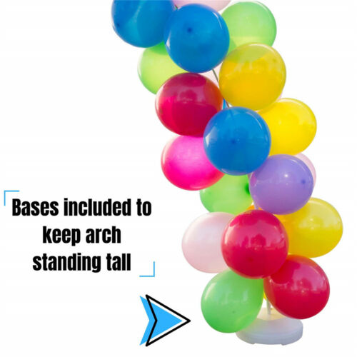 14FT Tall Large Balloon Arch Kit 9Ft Wide Frame Base fr Opening Ceremony Wedding