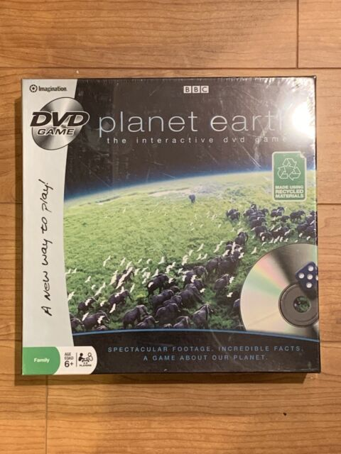 BBC Planet Earth The Interactive DVD Game By Imagination - New Factory Sealed