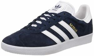 Adidas-Originals-Gazelle-Navy-Suede-Low-Top-Mens-Trainer-Sneakers-Shoes