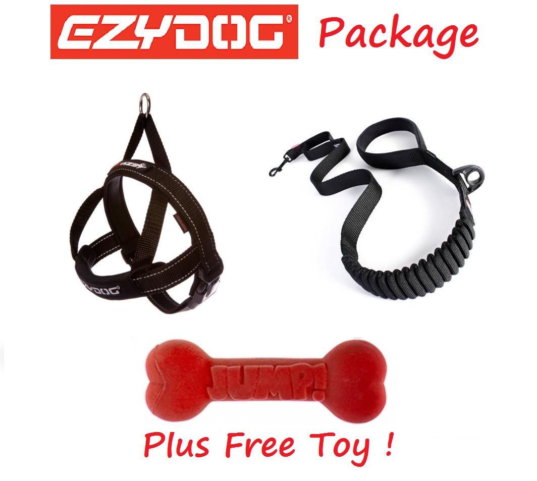 rivenditori online Ezydog Pacchetto Nero Zero Zero Zero Shock 48 per Cane Guinzaglio guinzaglio e Rapido Accoppiamento Cablaggio & Free giocattolo  conveniente