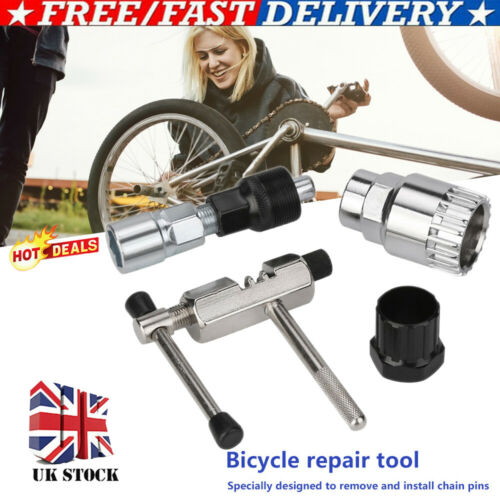 Bike Repair Kit Bicycle Removal Tool For Crank Chain Axis Extractor Puller 4pcs