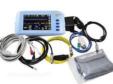 Touch Handheld Palm 6-Parameter Patient Monitor ECG/NIBP/Spo2/PR/Temperature