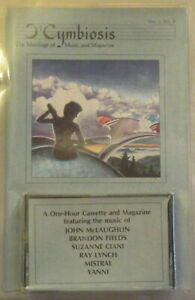 CYMBIOSIS Vol 1 No 3 Cassette+Zine S. CIANI McLaughlin MISTRAL Ray Lynch YANNI