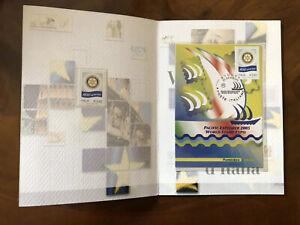 2005-Folder-Grandi-Eventi-Filatelici-Valori-d-039-Italia-Sydney-Pacific-Explorer