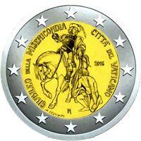 2 euro Vatikan 2016 in Originalblister : Heiliges Jahr der Barmherzigkeit