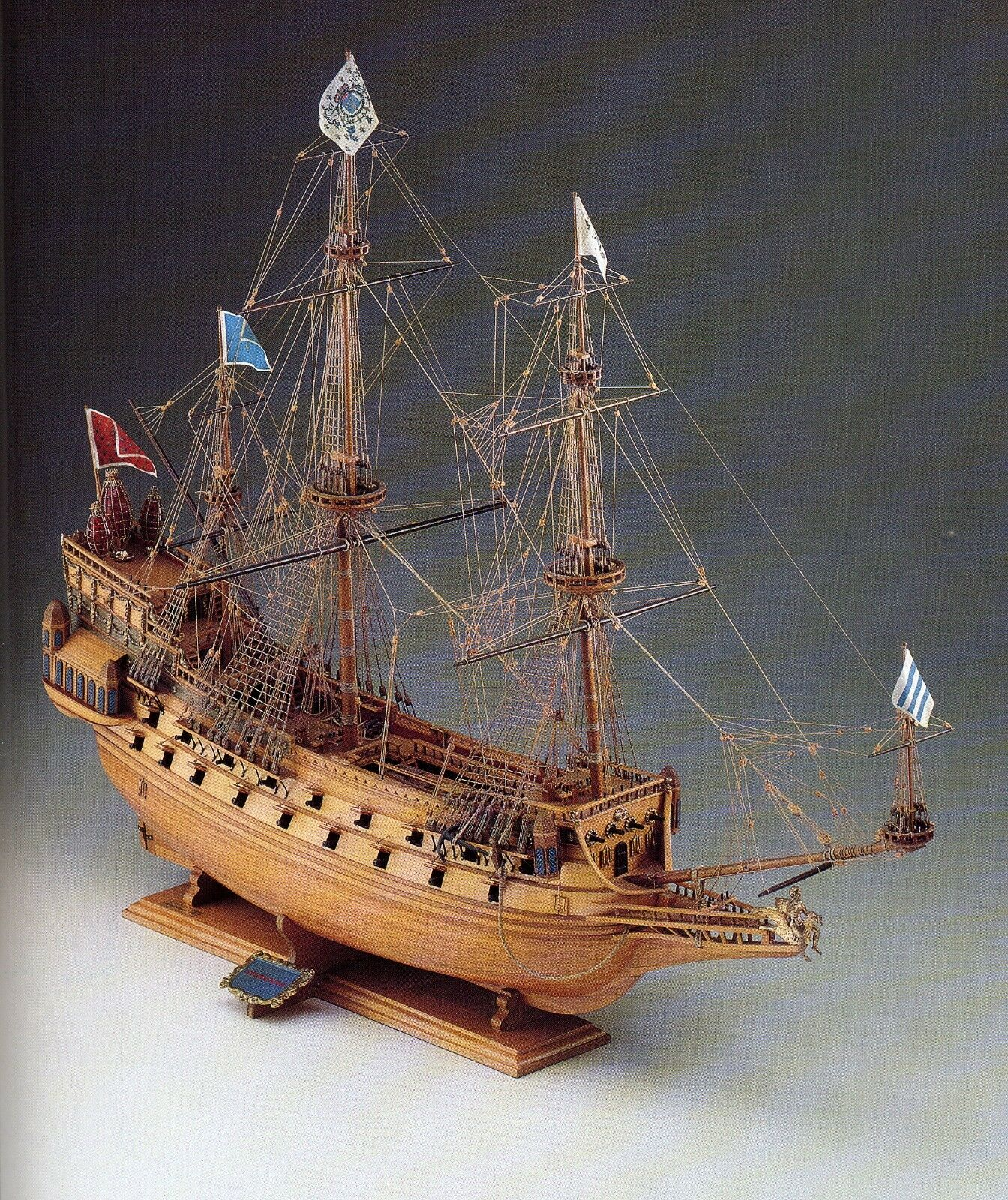 COREL SM17 BARCA Modello imbarcazione Nave COURONNE VASCELLO francese 1 100