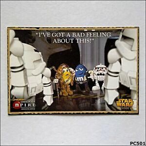 Avant-Card-9628-Star-Wars-Episode-III-M-amp-M-039-s-2005-Postcard-P501