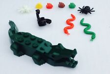 LEGO® Animal Lot #1 - Alligator, Snakes, Frogs, Scorpion & Spiders
