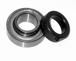 "Premium CSA205-16 Insert Bearing 1/"" Bore w//Locking Collar  RA100RR JD8597 513016"