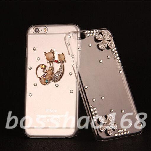 Glitter Luxury Bling Diamonds Soft TPU Gel back phone Case Cover for Sony #N